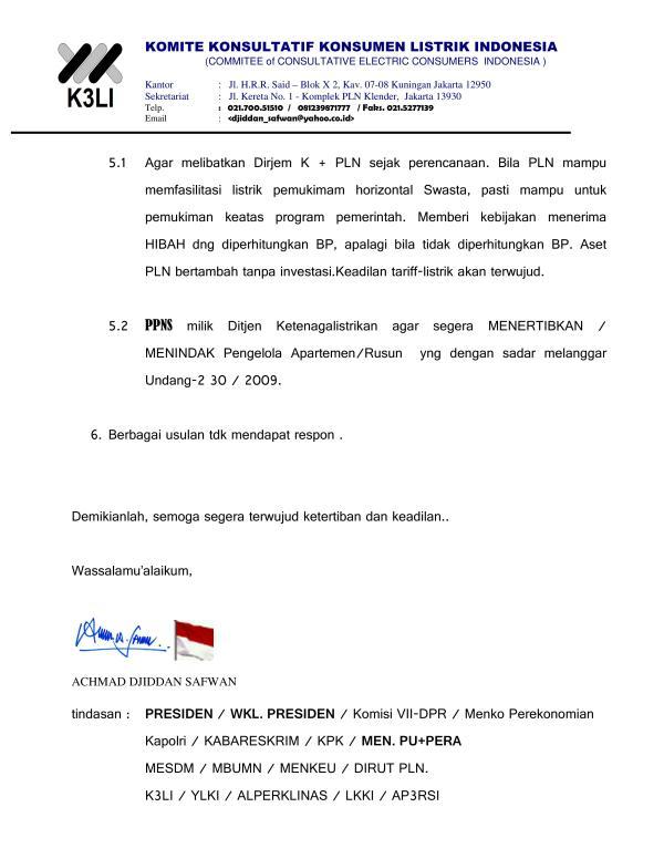 Komite Konsultatif Konsumen Listrik Indonesia - Demo Masalah Listrik 2015_07