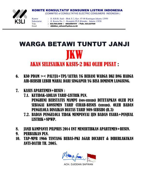 Komite Konsultatif Konsumen Listrik Indonesia - Demo Masalah Listrik 2015_08