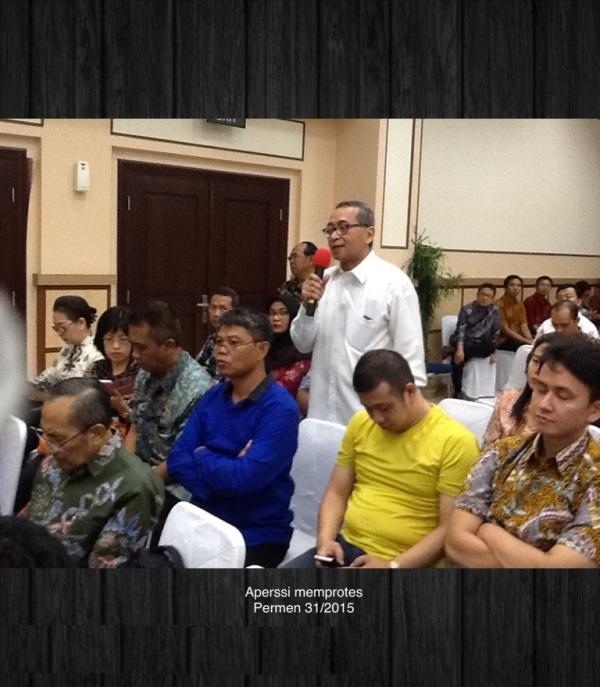 Protes Permen 31 Th 2015 a