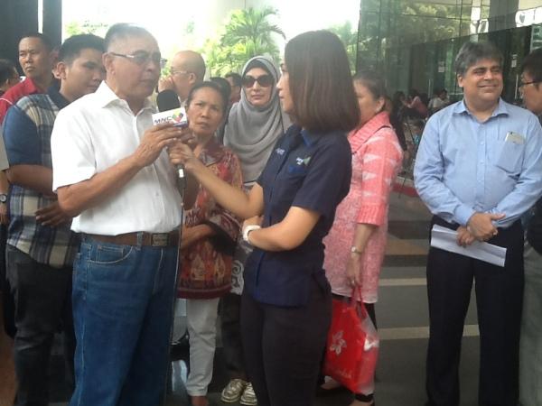Siaran Langsung dari MCN di Gedung KPK